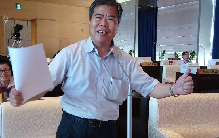 台中市議員何敏誠。記者陳秋雲/攝影