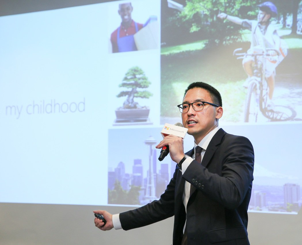 39歲的孫基康是台灣微軟有史以來最年輕的總經理。記者陳柏亨/攝影