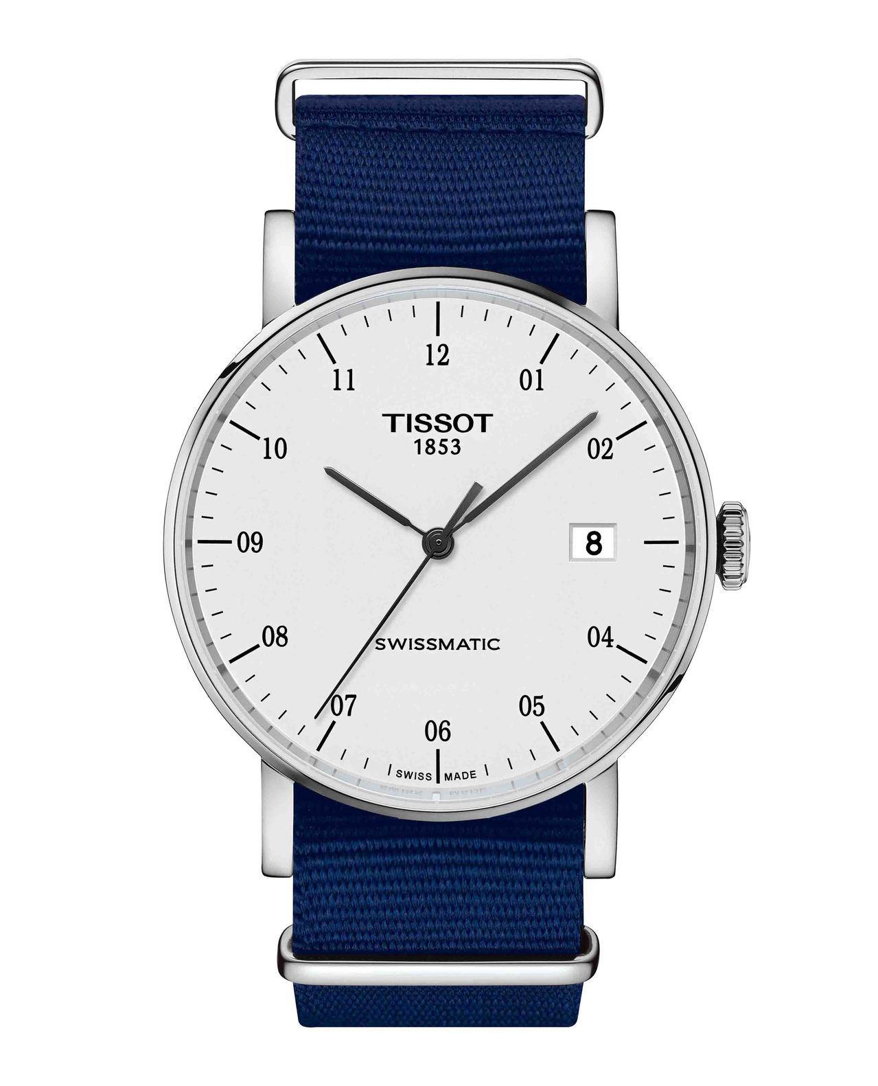 天梭Everytime Swissmatic魅時系列腕表,採用Swissmati...