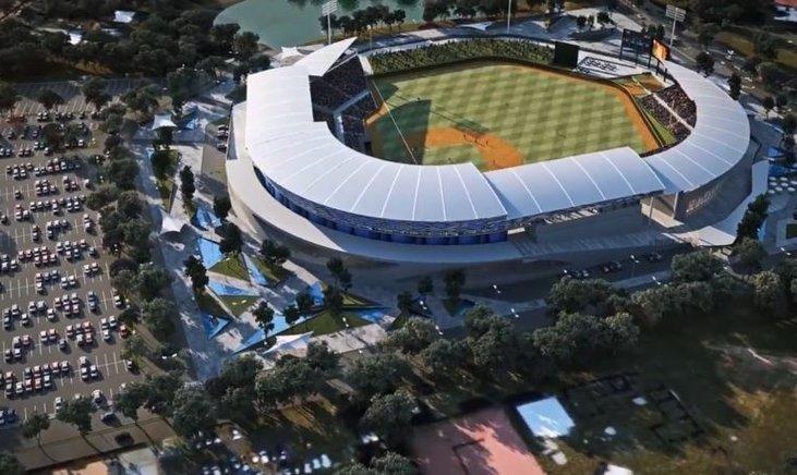 尼加拉瓜新球場。圖/外交部提供