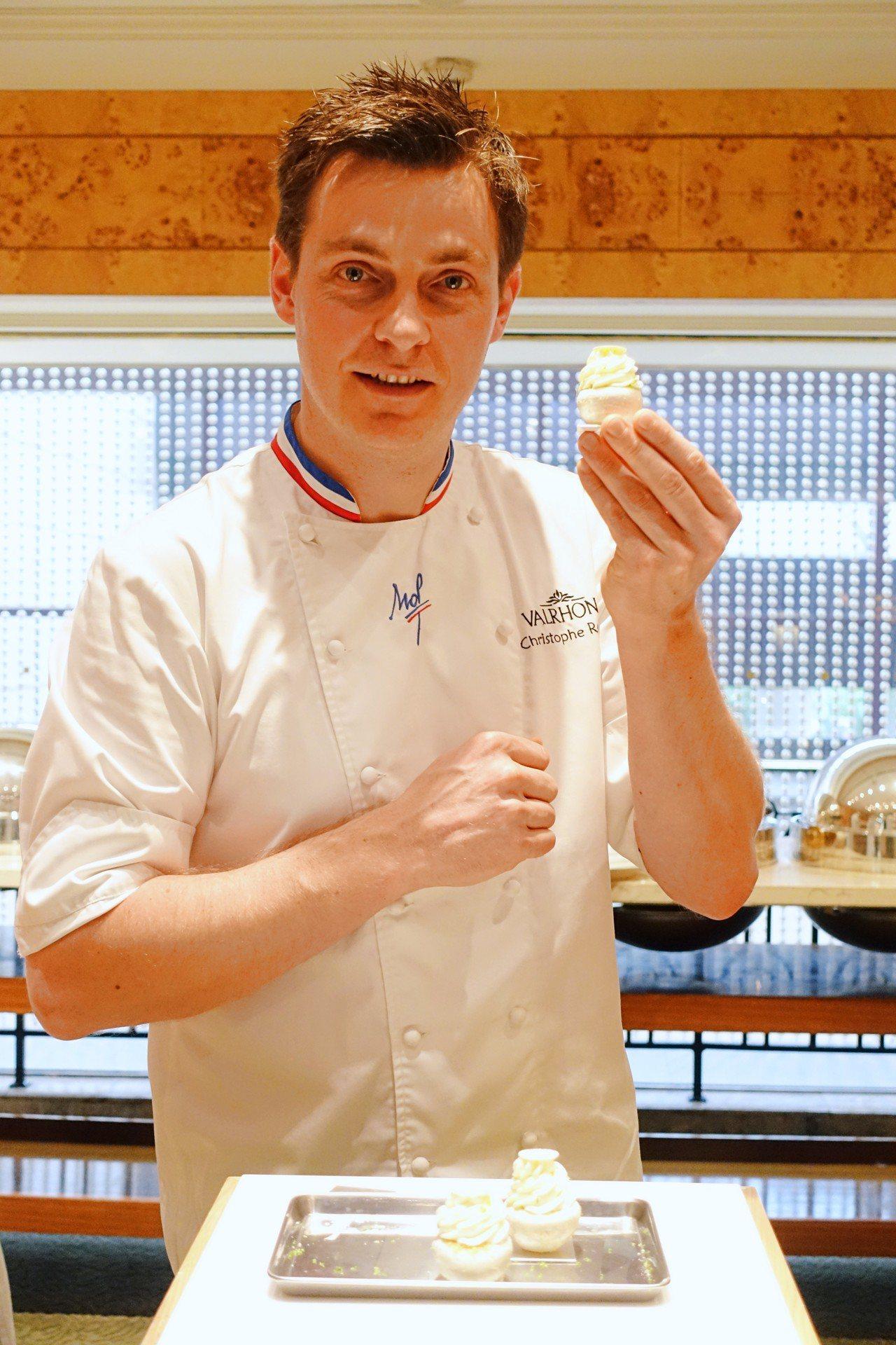 MOF法國甜點師Christophe Renou。記者沈佩臻/攝影