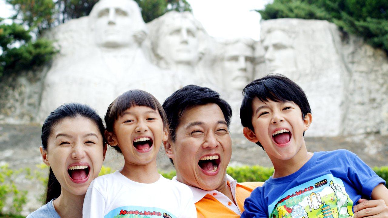 小人國四大總統像。圖/小人國提供