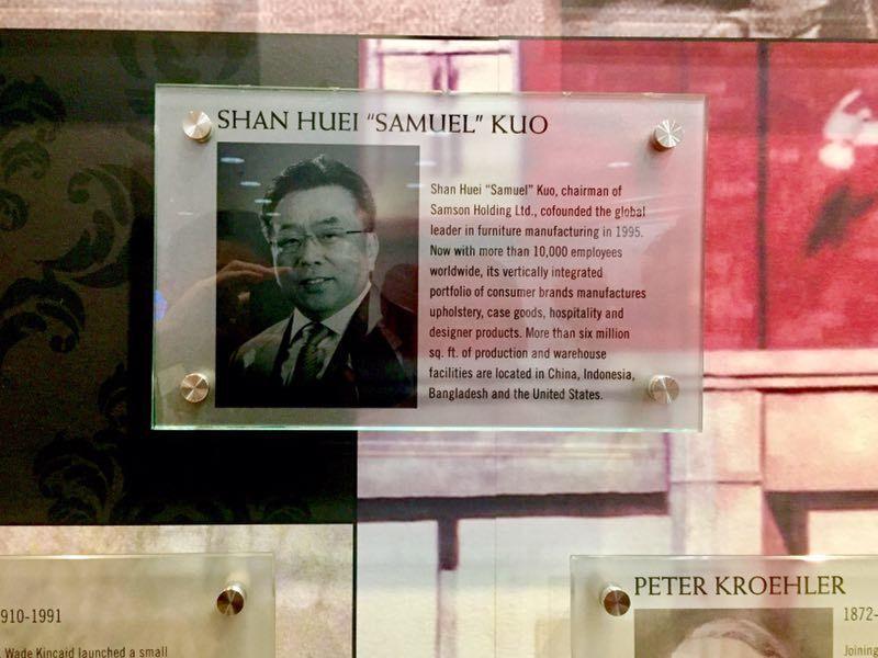 郭山輝是美國家居名人堂歷史上第二位華人獲得美國家具最高榮譽「Affie」殊榮。台...