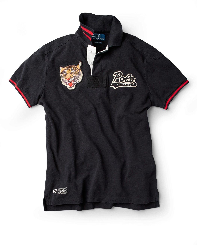限量版Collegiate Polo衫進行到第4款,以虎頭布章為特色。圖/Ral...
