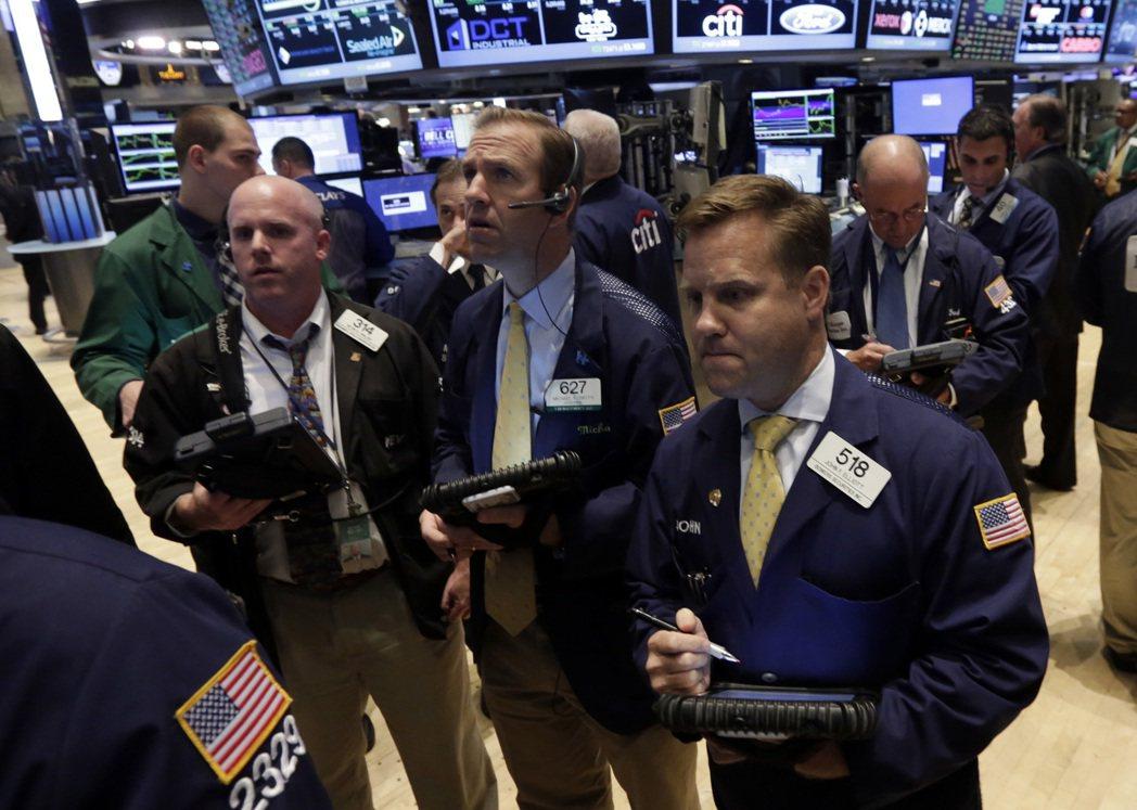美股道瓊期指大跌逾百點。(圖/美聯社資料照片)