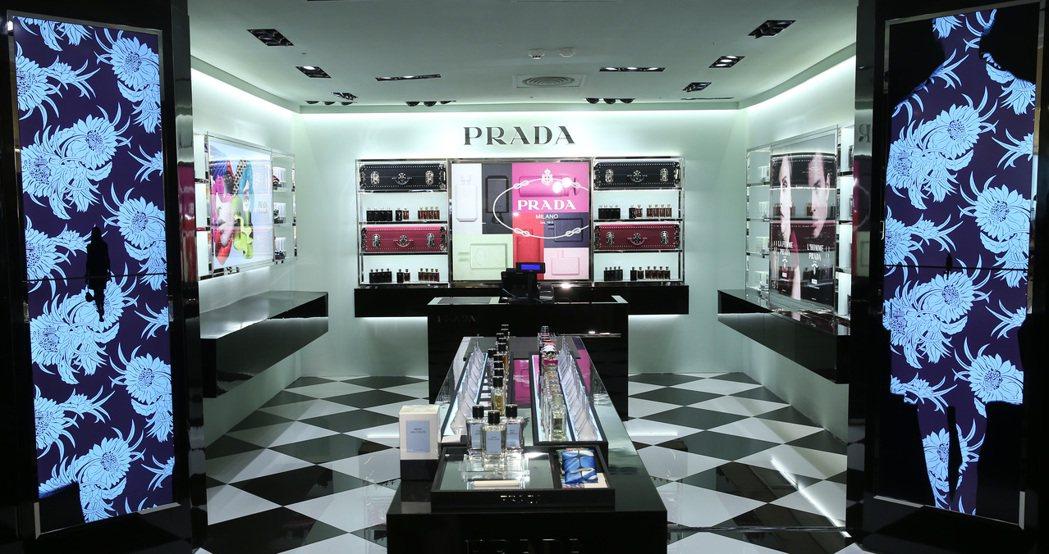 亞洲首間PRADA香氛旗艦店發表Olfactories珍藏系列。記者曾吉松/攝影