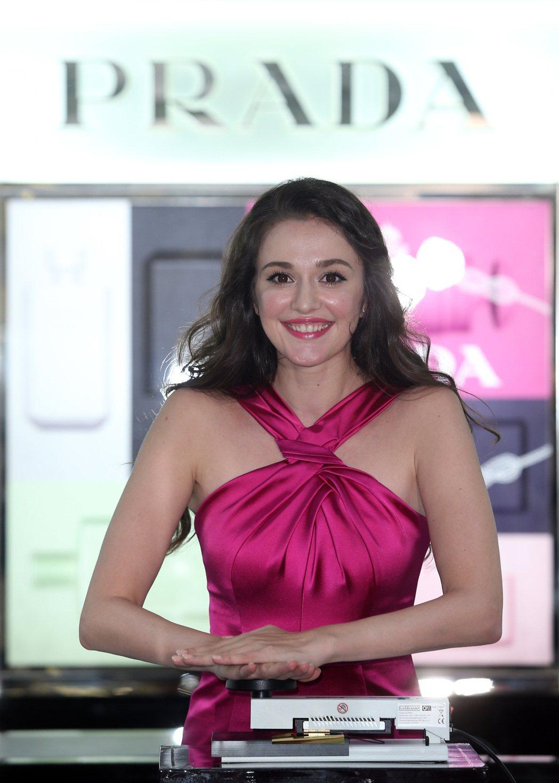 亞洲首間PRADA香氛旗艦店發表Olfactories珍藏系列,藝人瑞莎站台 。...