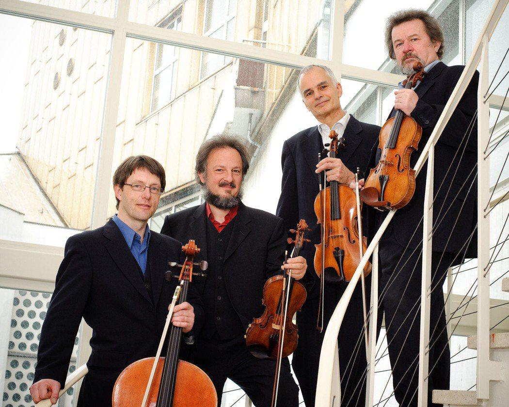 柏林愛樂四重奏11月將來台。圖/傳大藝術提供