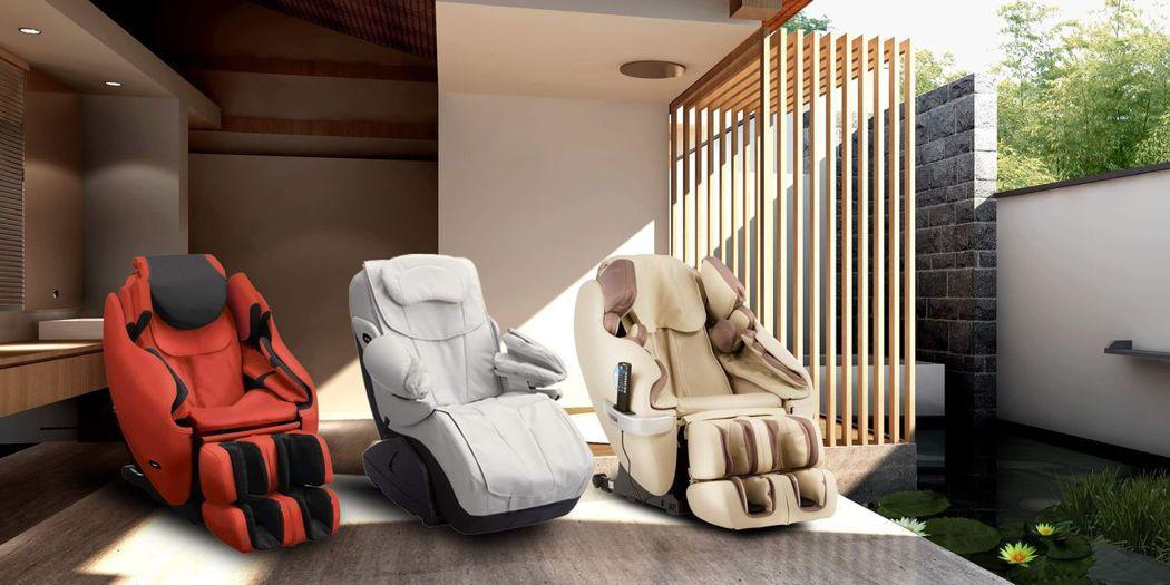 歡慶周年慶,「INADA稻田按摩椅」多款日本原裝按摩椅特惠中。(圖:INADA提...