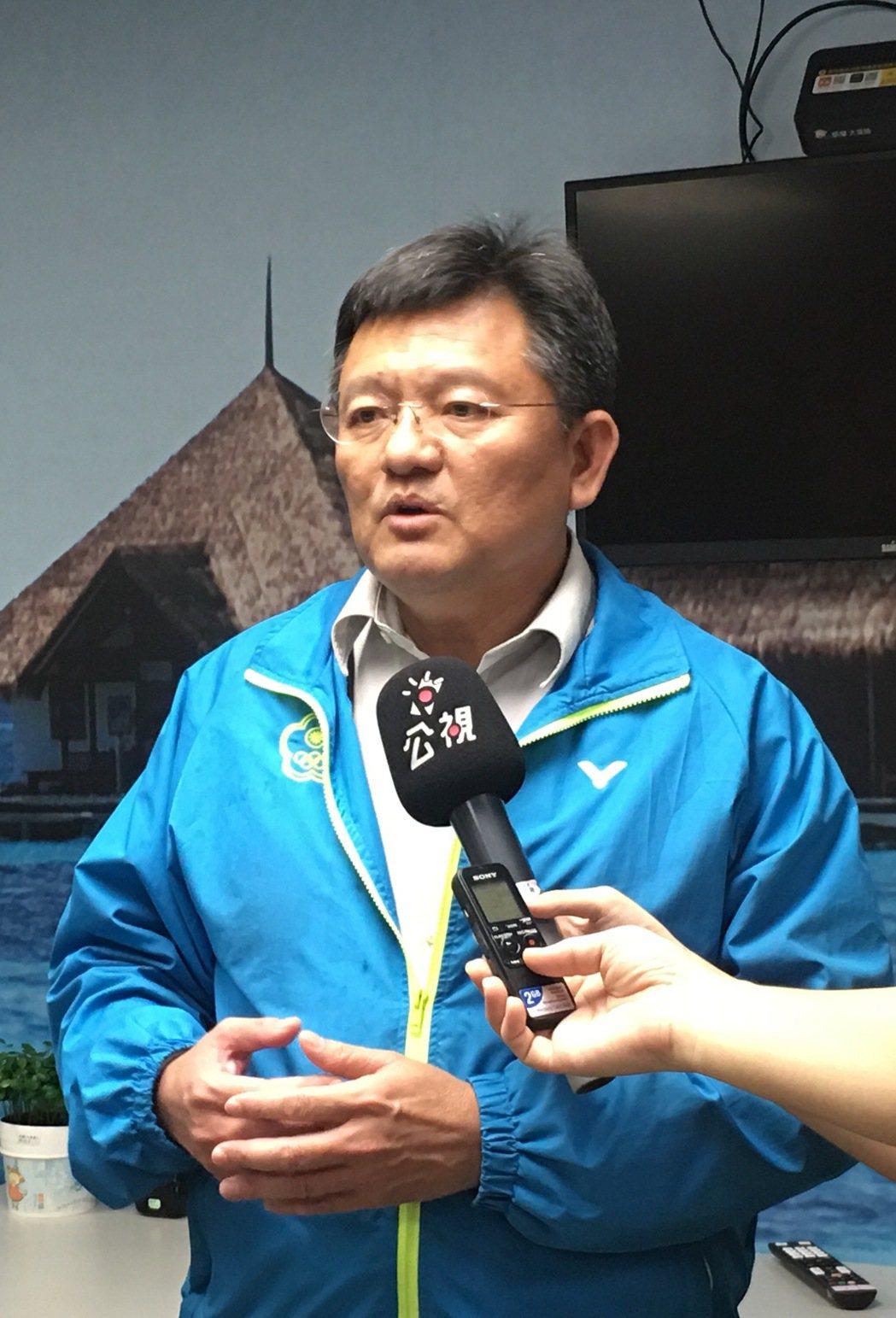 體育署副署長林哲宏回應連署大會訴求,表示體育署將和各協會繼續溝通。 記者曾思儒...