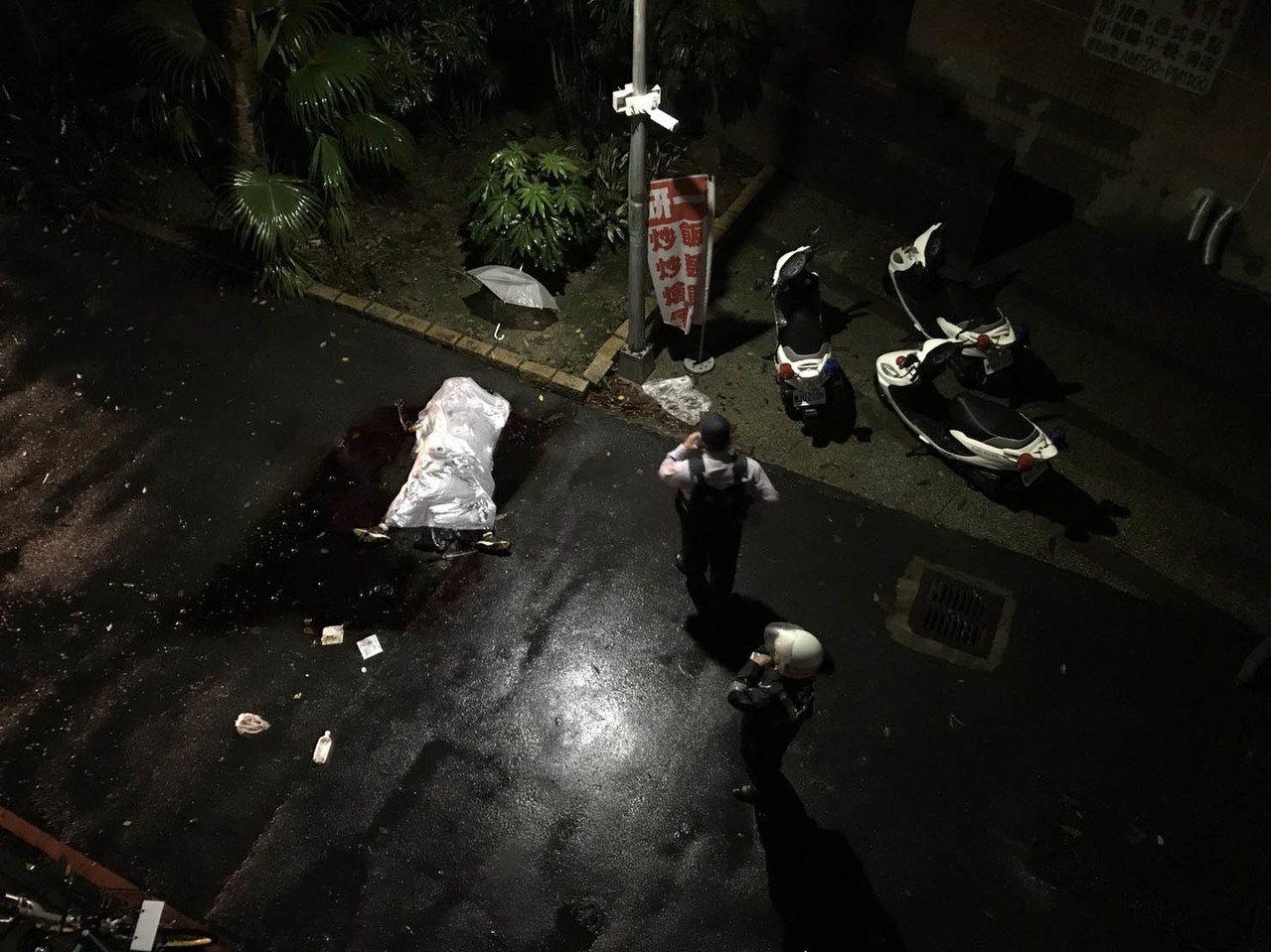 台大校園學生遭潑不明液體 一人死亡