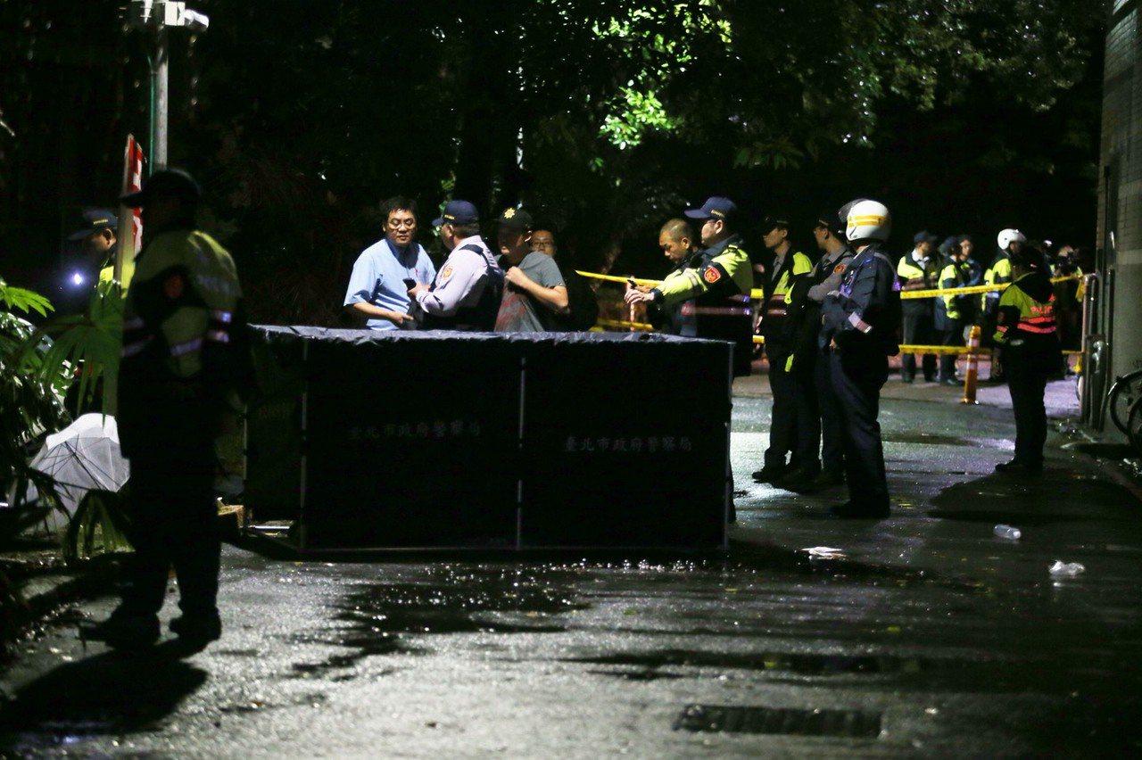 台大發生校園命案,造成1死3傷。記者楊萬雲/攝影