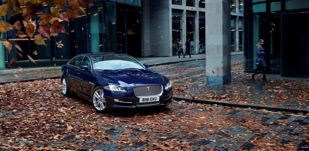 Jaguar XJ。圖/九和汽車提供