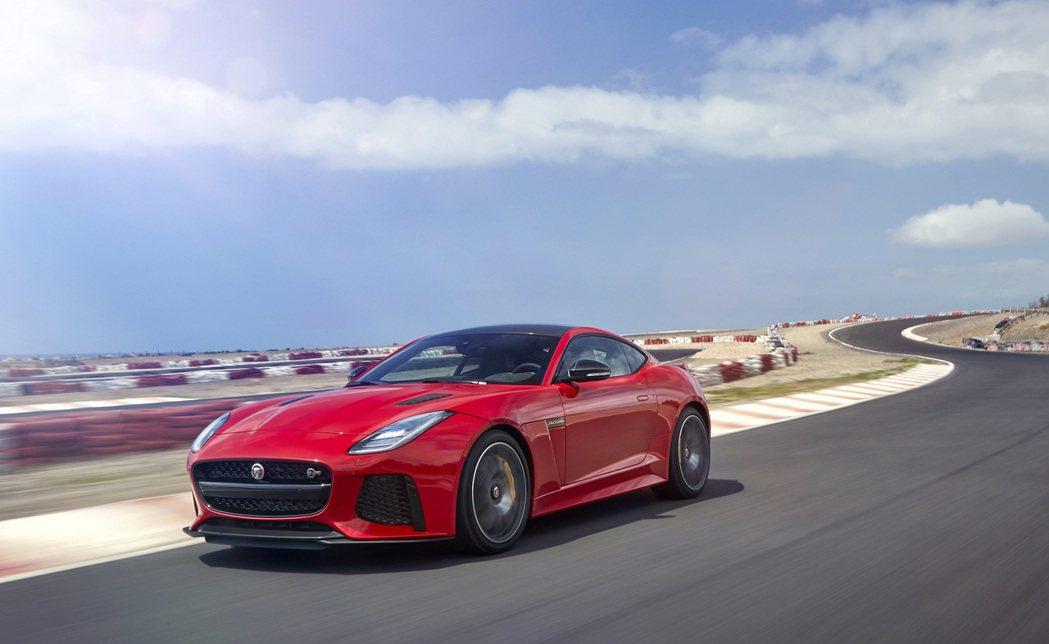 New Jaguar F-TYPE。圖/九和汽車提供