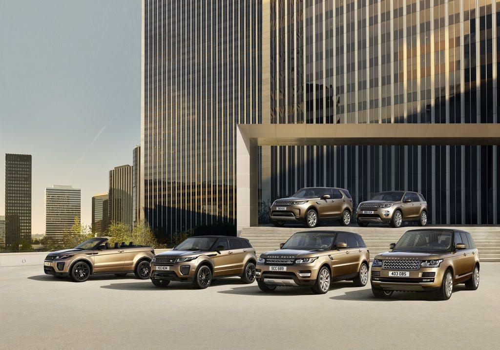 Land Rover 全車系。圖/九和汽車提供