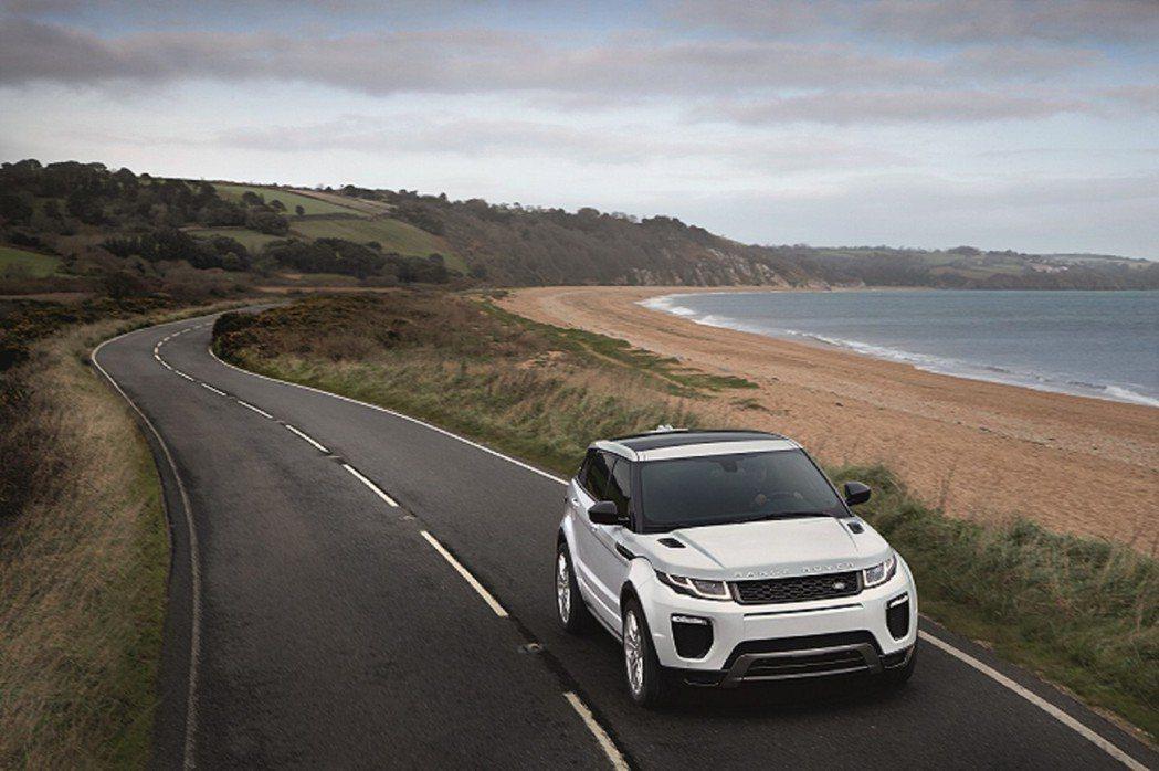 Range Rover Evoque。圖/九和汽車提供