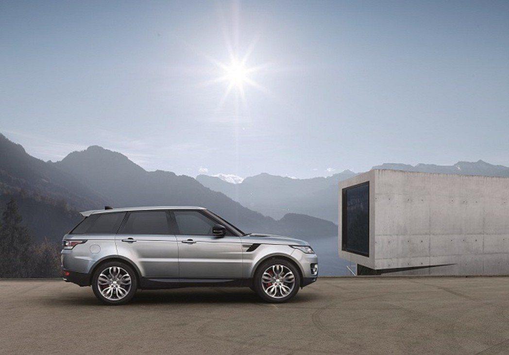 Range Rover Sport。圖/九和汽車提供