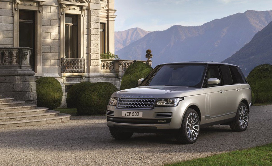 Range Rover。圖/九和汽車提供