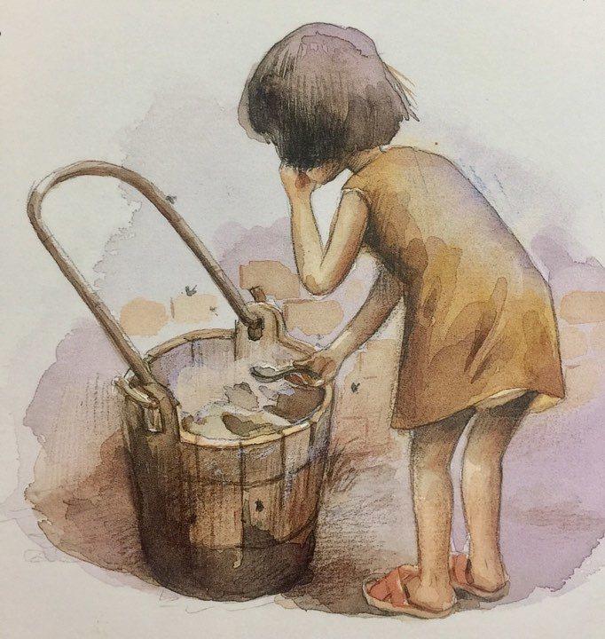 因應破傷風的祖傳秘方,需要豬舍餿水桶的白色污垢。