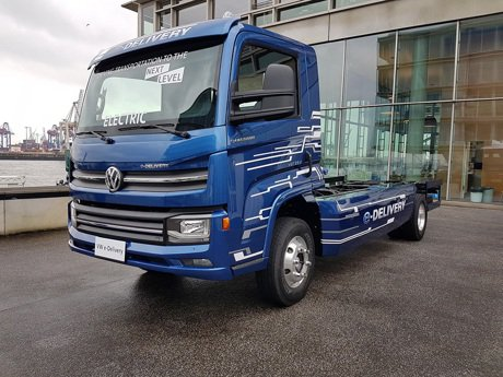 VW福斯全新E-Delivery電動貨車計畫2020年上市