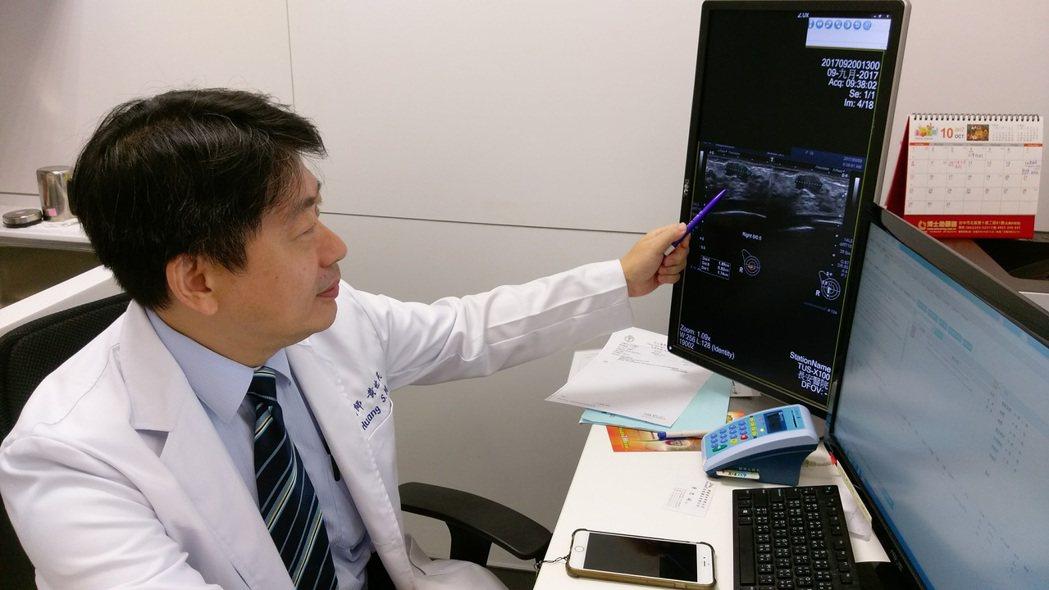 台中市長安醫院乳房外科主任黃世民指出,相對於傳統手術經常留下疤痕,微創手術只會留...