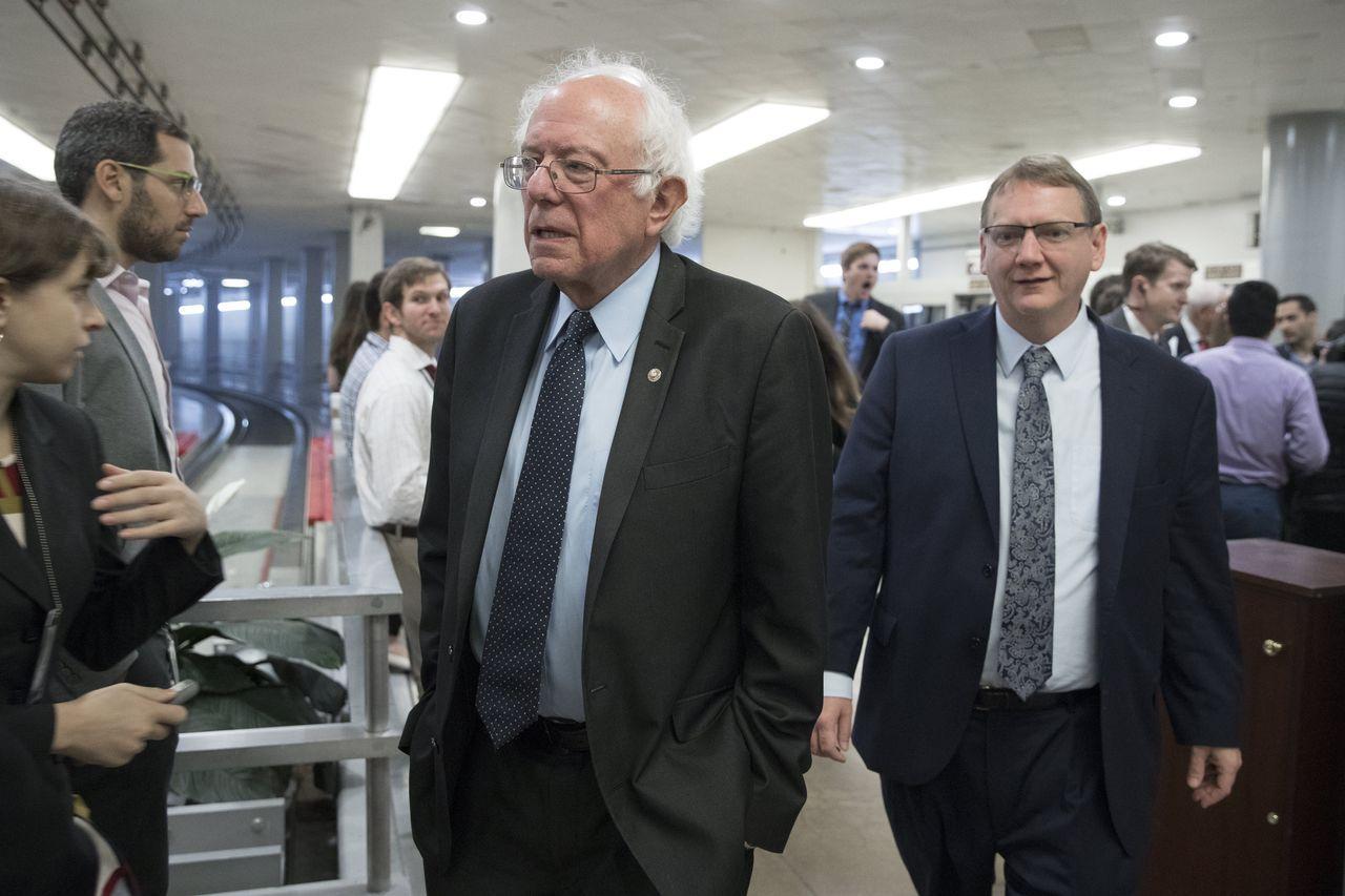 無黨籍參議員桑德斯表示,所得大幅不均之際,此預算竟提供1%最富者1.9兆美元稅負...