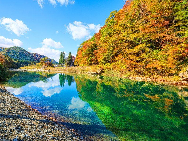 日本東北秘境景點豐富,今年買氣明顯成長。圖/易遊網提供