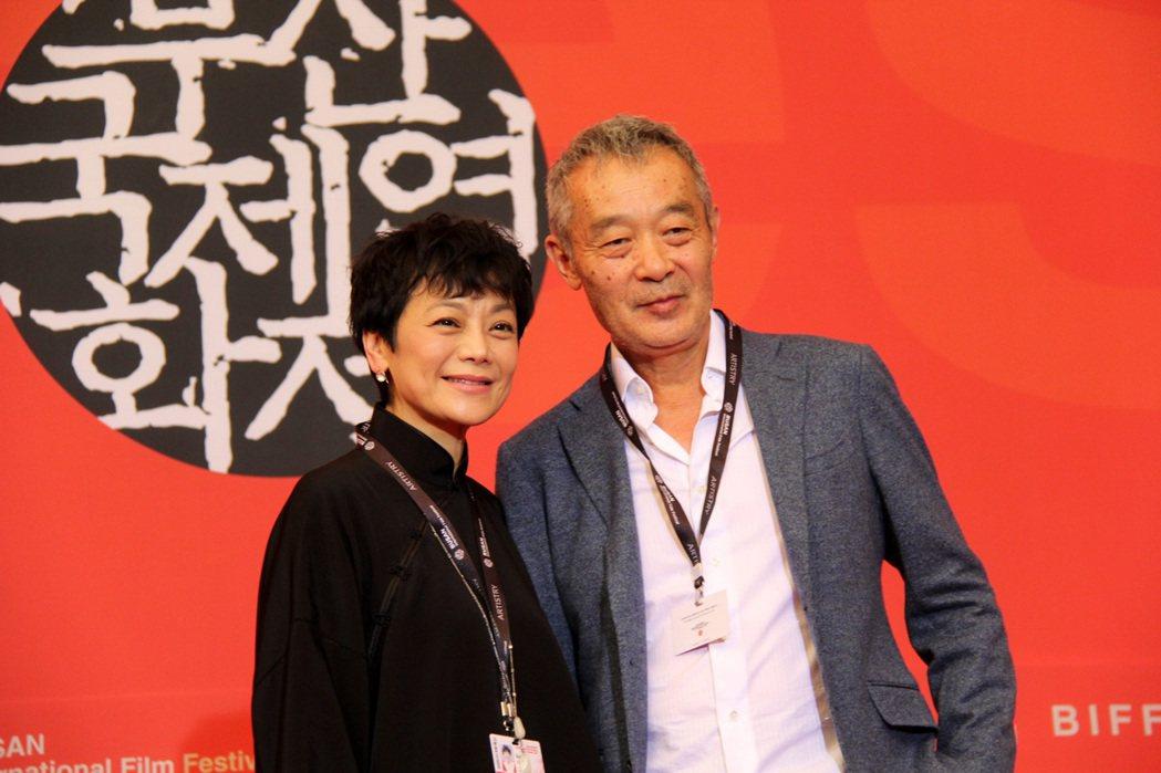 張艾嘉與田壯壯共同演出電影「相愛相親」,表演相當精采。圖/甲上提供