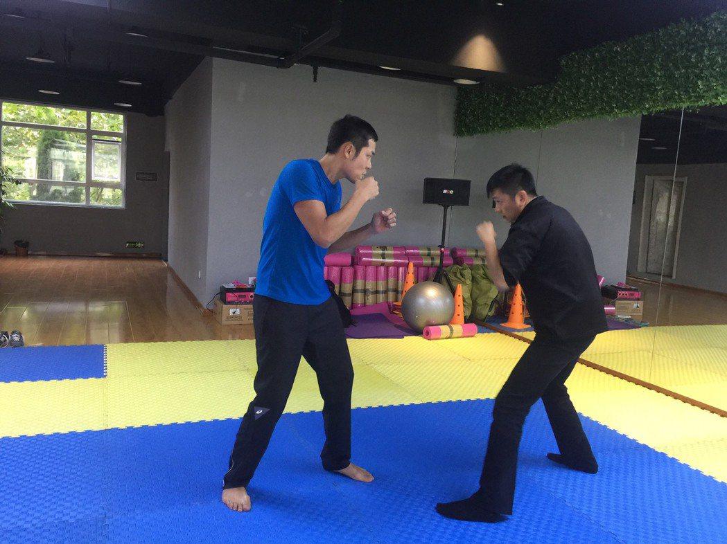 姚元浩為新戲接受各種拳術訓練。圖/傑星提供