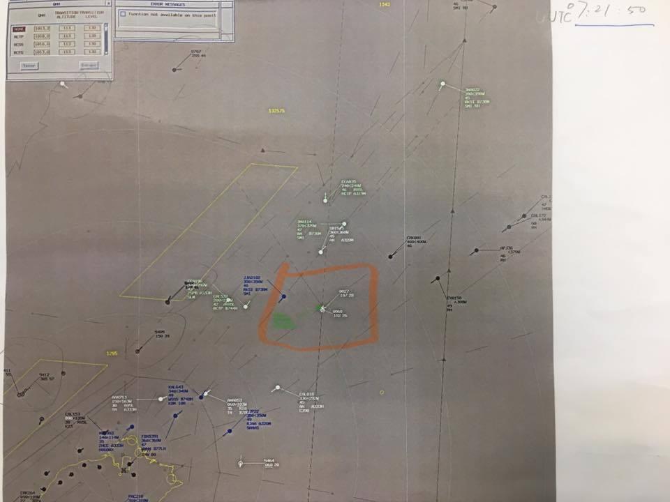空軍秀航跡圖後 費鴻泰再質疑:雷達圖明顯壓線越界