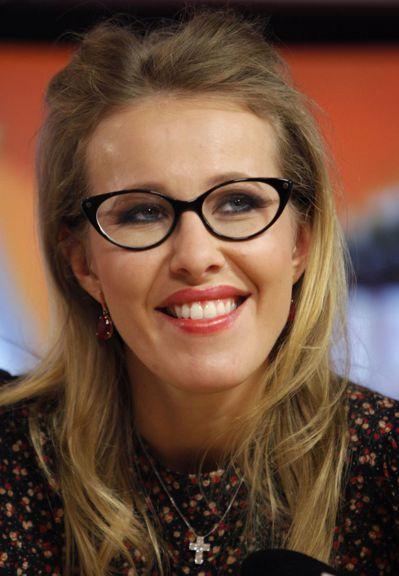 謝尼婭·索布恰克是俄羅斯電視實境秀主持人。 (美聯社)