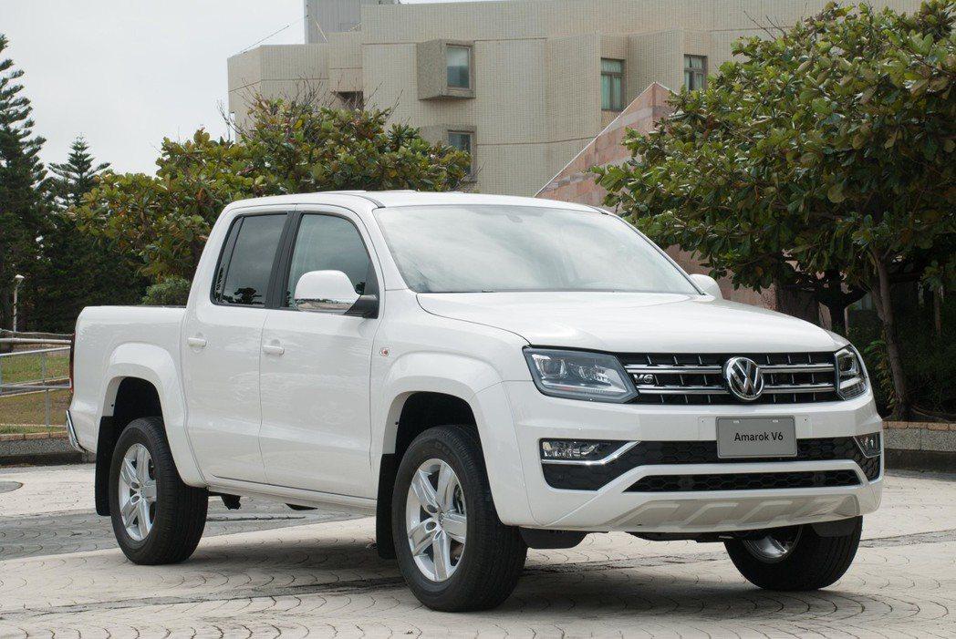 Volkswagen Amarok。記者林昱丞/攝影