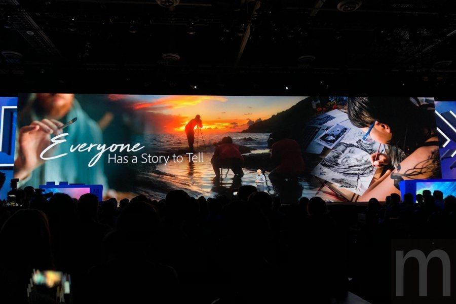 Adobe希望藉由旗下服務工具讓使用者能更容易、簡單地將內心想法表現為實際作品