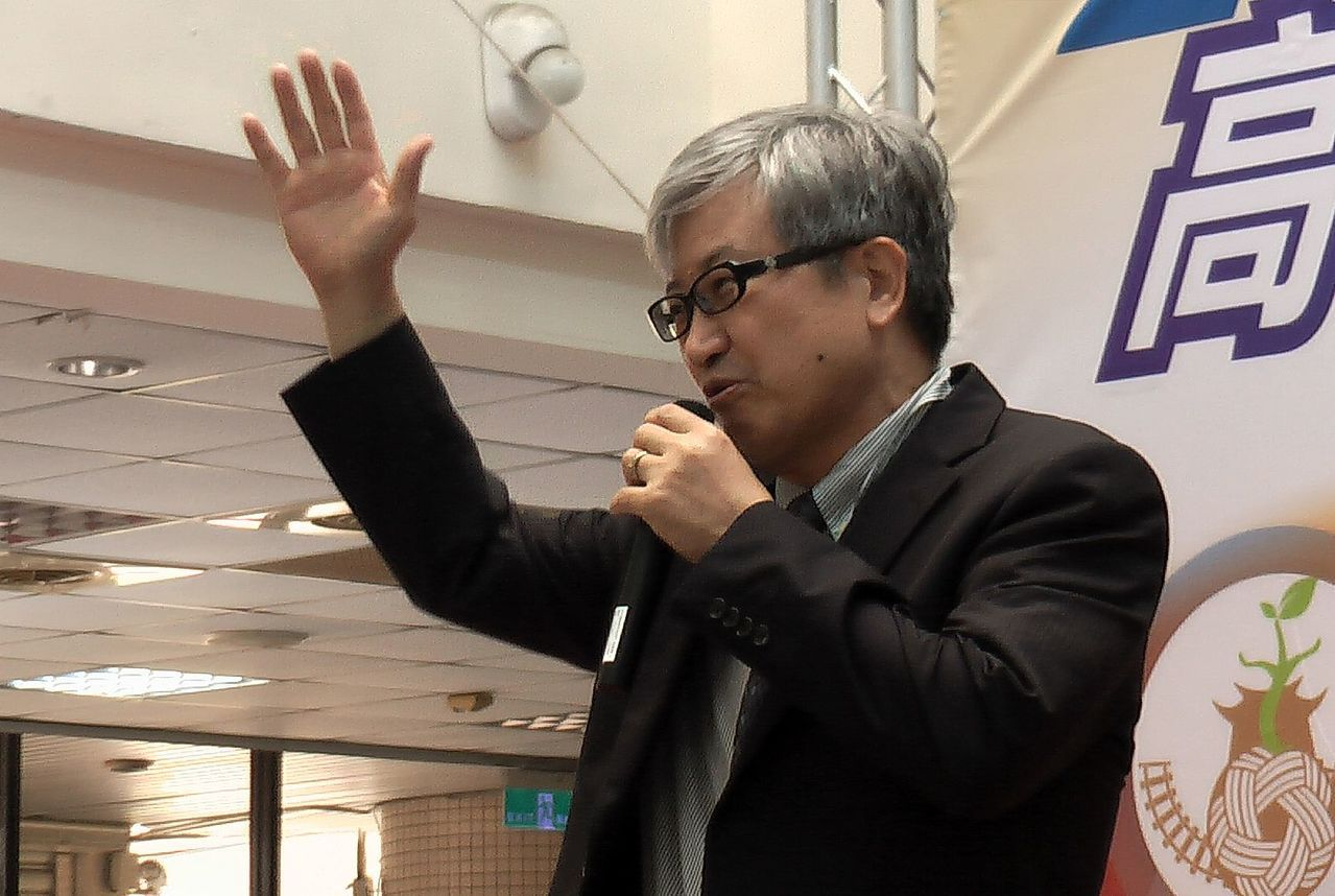 高師大校長吳連賞表示,高中優質化計畫以「雁行理論」為基礎。記者徐如宜/攝影