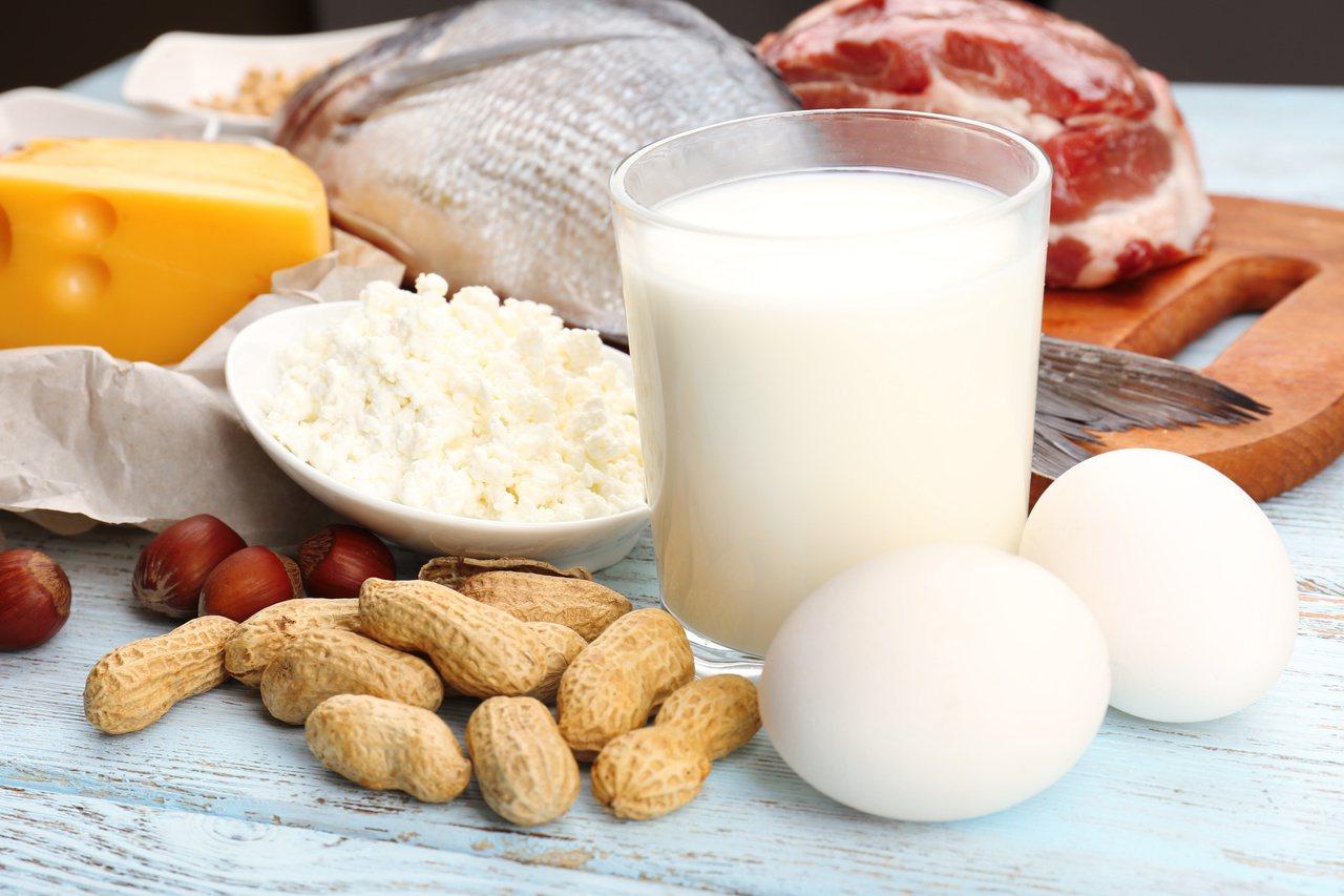 三餐皆攝取蛋白質、平均分配吸收,效果最好。圖/本報資料照片