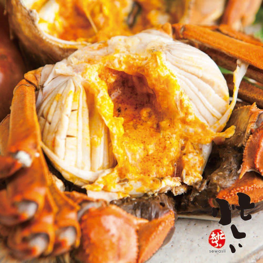 台灣宜蘭純淨養殖大閘蟹5兩4隻入,促銷價1,608元。圖/momo購物網提供