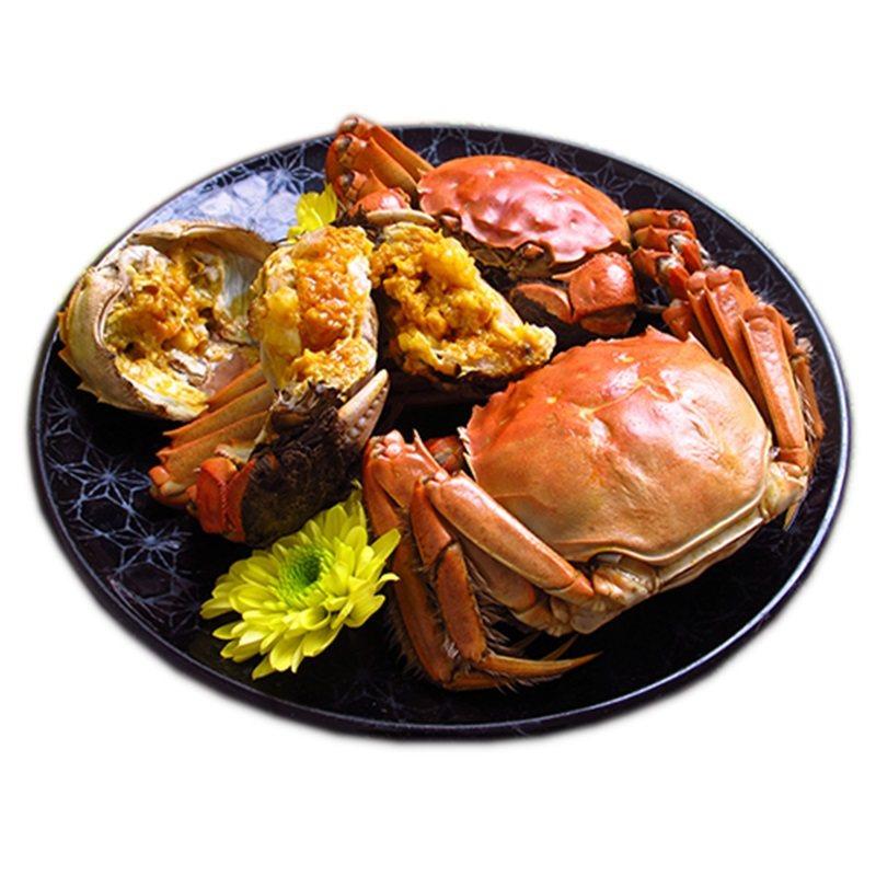 5兩重大閘蟹是今年網購的熱門選項。圖/好吃宅配網提供