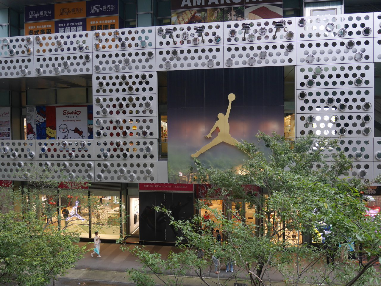 微風松高一樓的JORDAN旗艦店。記者江佩君/攝影