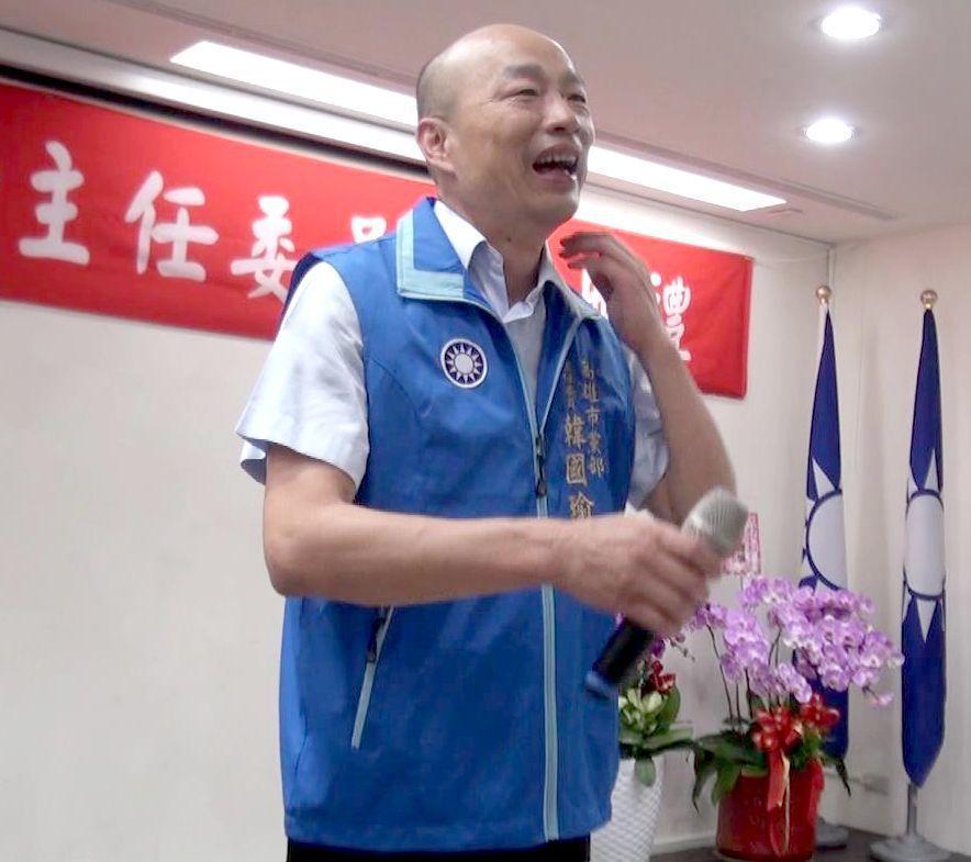 國民黨高雄市黨部主委韓國瑜規畫由黨代表取代小組長做為高市國民黨基層組織的主力。圖...