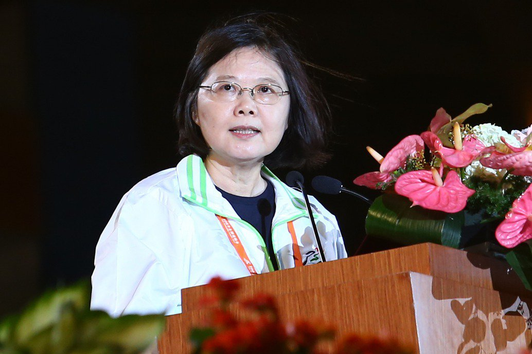 蔡英文表示,為了提升台灣的空氣品質,pm2.5的減少和空氣管理也是台灣的首要目標...