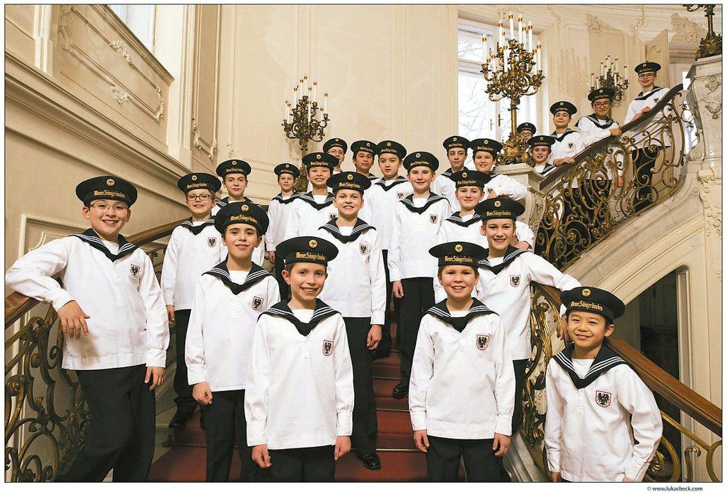 維也納少年合唱團。 傳大藝術/提供