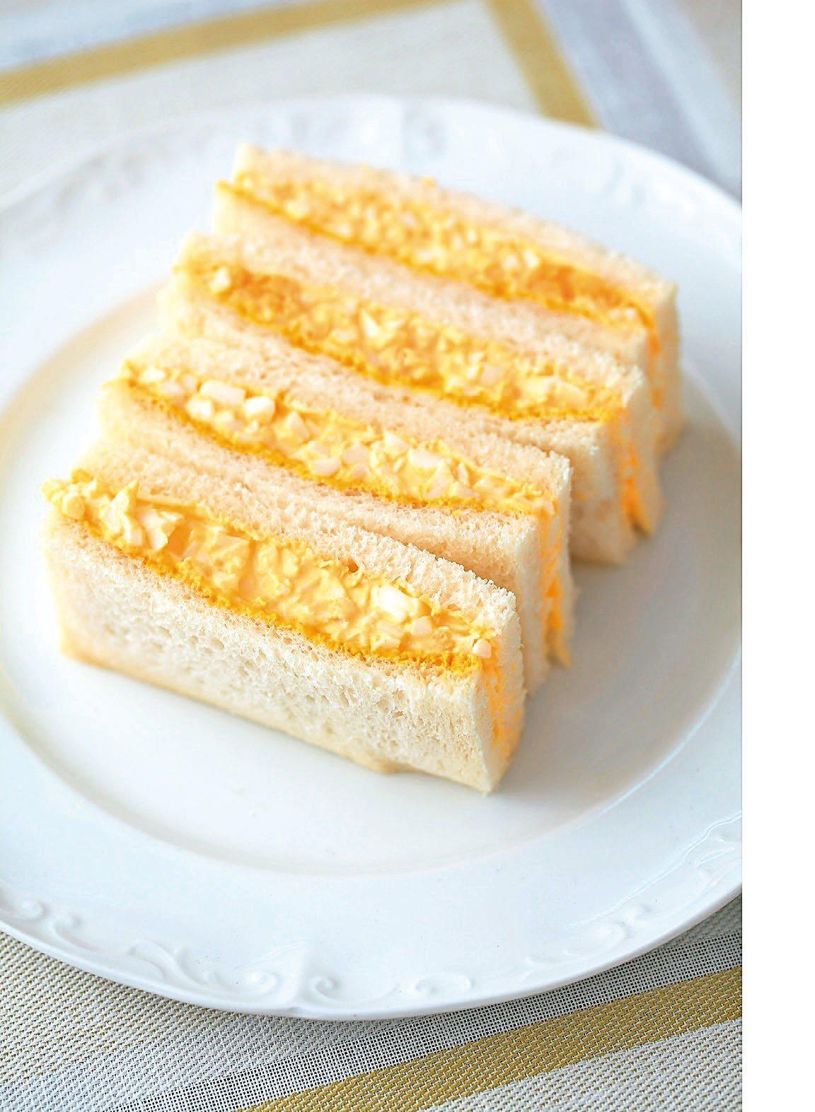 雞蛋三明治。圖/商周提供