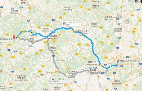 Nürburgring Nordschleife德國紐伯林北賽道探訪 – 車輛選擇+交通食宿篇(2)