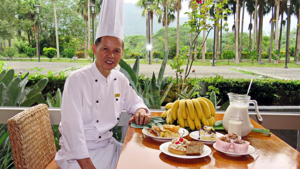 台東鹿鳴溫泉酒店為搶救蕉農,向當地蕉農以市價收購香蕉,並設計一系列中、西式香蕉料...