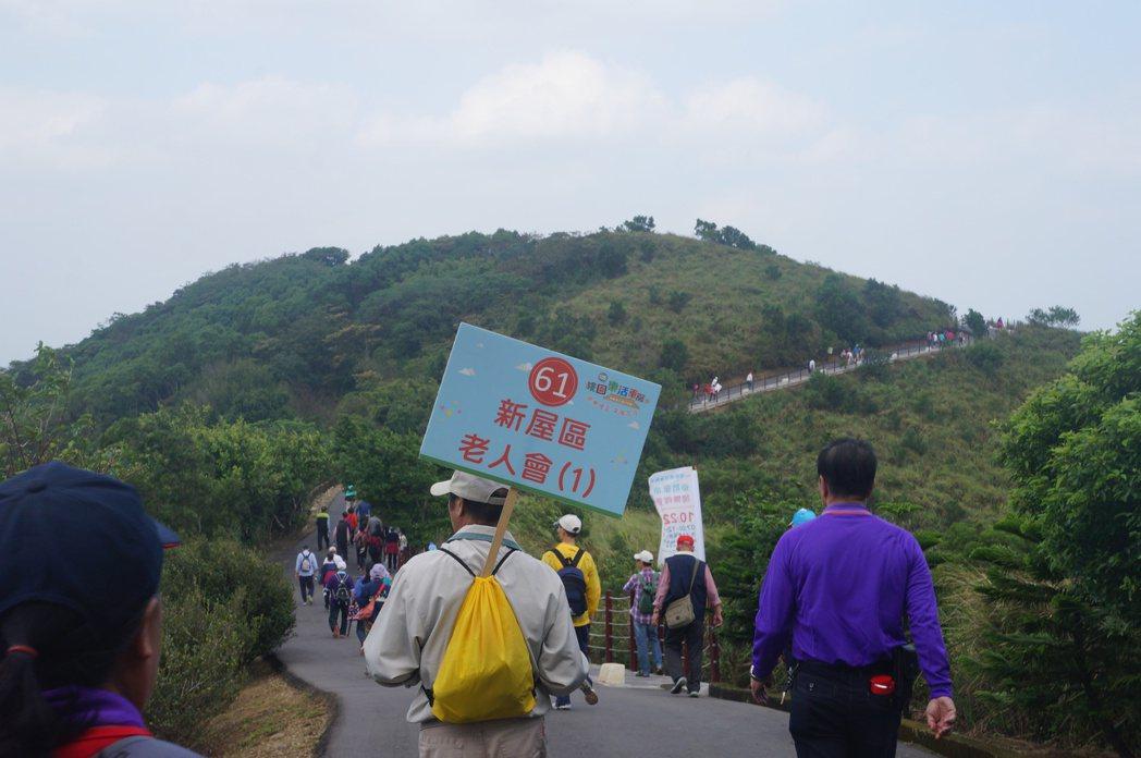 楊梅秀才步道綿延山陵是熱門健走路線。圖/桃園市楊梅區公所提供