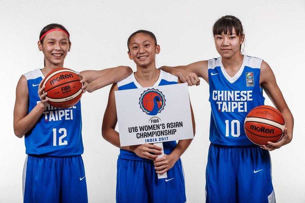 U16亞青女籃開戰,中華隊首戰吞敗。 圖/取自FIBA