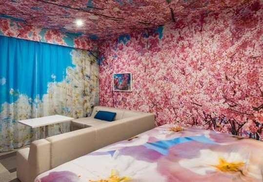 蜷川實花於「京都安特間飯店」打造概念套房。圖/樂天旅遊提供