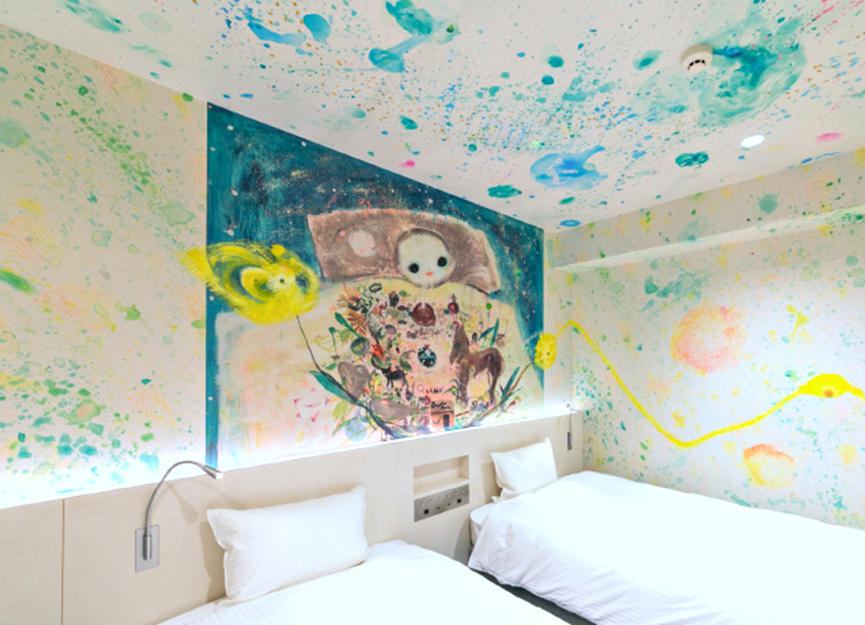 WBF ART STAY難波飯店。圖/樂天旅遊提供