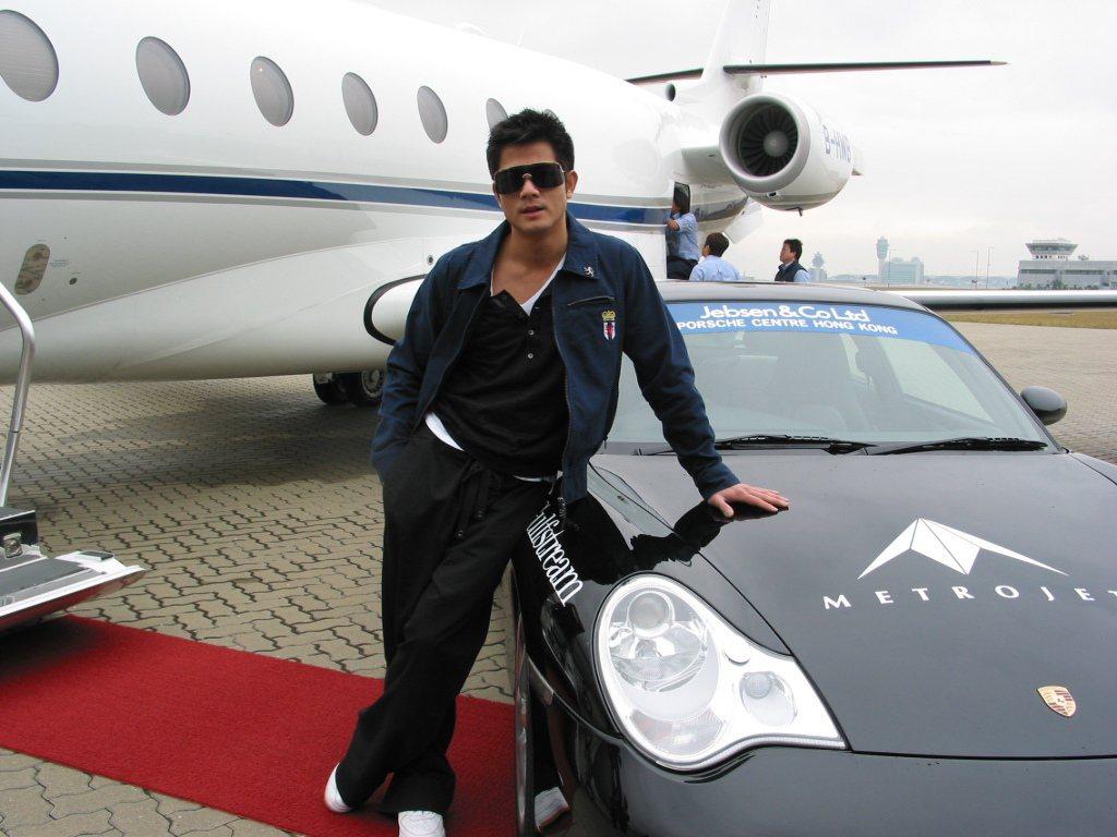 郭富城喜歡玩車,曾參加國際賽車。本報資料照片