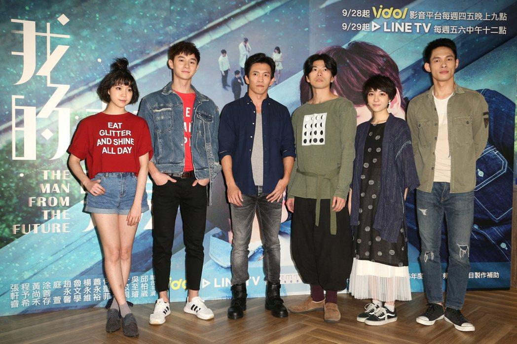 「我的未來男友」舉辦解謎遊戲,程予希(左起),張軒睿,黃尚禾,蕭永裕,庭萱,楊永